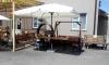Зонт квадратный Милан 3х3м с воланами