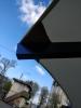 Матерчатый круглый серый  купол без воланов Ø 3,5м, для зонтов Барселона