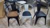 Кресло Стул Loft Metal  Барселона для Кафе, Баров и Ресторанов