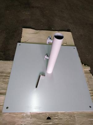 Металлическая квадратная подставка для зонта ТН-29