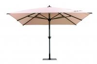"""Зонт квадратный """"ALU-3,5 х 3,5""""- 3,5 х 3,5 м, с металлической  подставкой"""