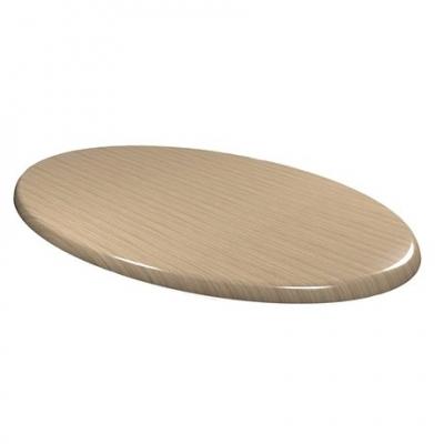 Столешница круглая из алюминия Ø 0,7м  ЕТО15