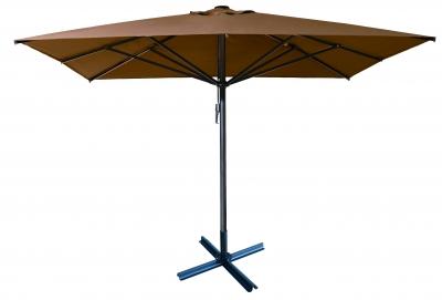 "Зонт квадратный ""ALU-3,5 х 3,5"" с куполом 3,5 х 3,5 м"