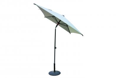 Зонт прямоугольный ALU 1,6 х 2м Balcony, с наклоном купола.
