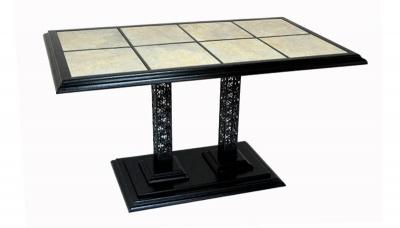 """Кофейный прямоугольный стол  """"Барселона К6"""" (1370x750)"""