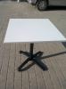Квадратный алюминиевый стол  70х70 см. для ресторана, кафе и летней площадки