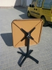 Столешница квадратная 73х73 см. ЕТО10 из алюминия