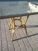 Квадратный стол SALON для летней площадки ресторана, кафе и дома