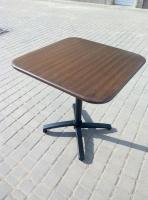 Квадратный алюминиевый стол 73х73 см для летней площадки ресторана, кафе и дома