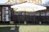 Зонт консольный чёрный XL-3x3 м с алюминиевым каркасом