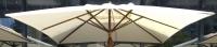 Матерчатый квадратный купол без воланов 3 х 3 м для зонтов Милан