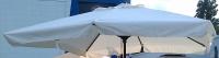 Матерчатый квадратный купол с воланами 3 х 3 м для зонтов Милан