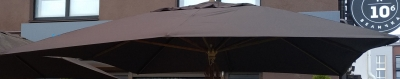 Матерчатый купол Шоколад без воланов 3 х 4 м для зонтов Прага