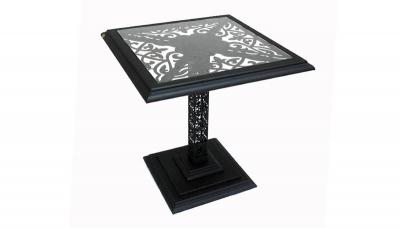 """Кофейный квадратный столик  """"Марсель"""" (750x750)"""
