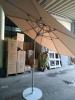 """Зонт круглый """"ALU-3""""- Ø3м, со свойством наклона купола с металлической  подставкой"""