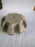 Верхний серый композитный револьвер крепления 8 алюминиевых спиц купола стандартного зонта