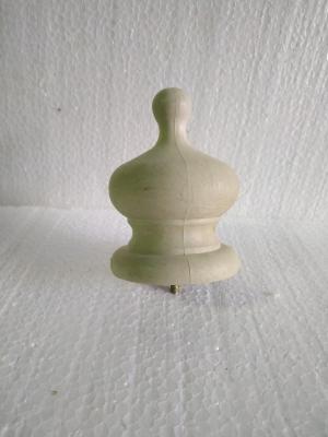Верхний серый композитный наконечник  для револьвера купола стандартного алюминиевого зонта