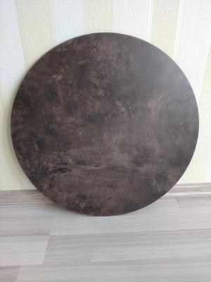 Антивандальная круглая столешница из HPL пластика 6 мм