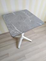 Квадратный стол  60х60 см. с антивандальной столешницей