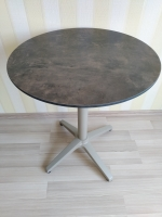 Круглый стол  Ø61 см. с антивандальной столешницей