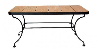 """Кофейный прямоугольный столик """"Комфорт-2"""""""